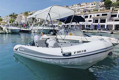 Alquiler de barcos sin licencia Marina del Este