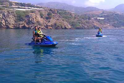 Alquiler motos de agua Marina del Este, La Herradura, Almuñécar y Nerja